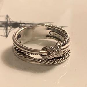 David Yurman crossover diamond